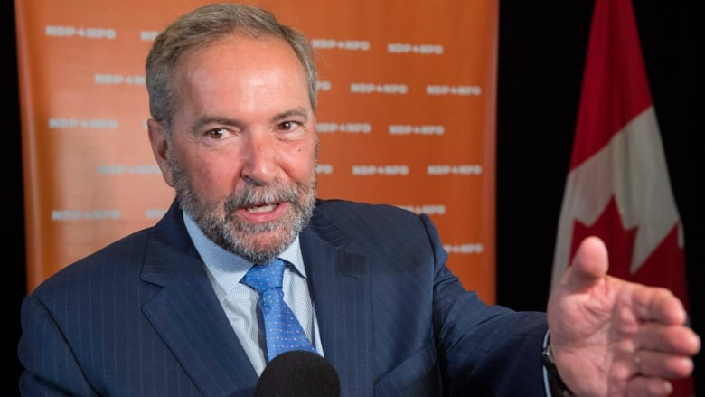 Tom Mulcair Says His Legacy Is To Leave Next Ndp Leader A