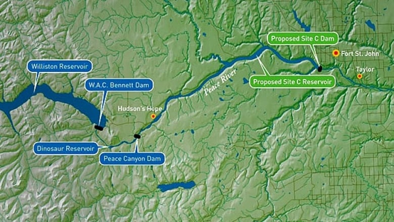 Site C dam project forces expropriation of B C  family farm this