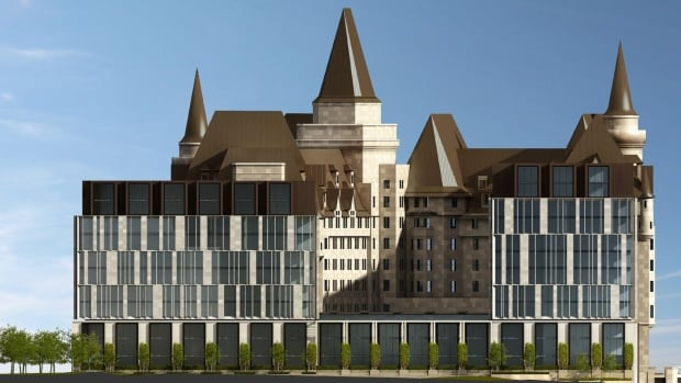 Ch teau laurier expansion revamped after rough reception for Hotel design ottawa
