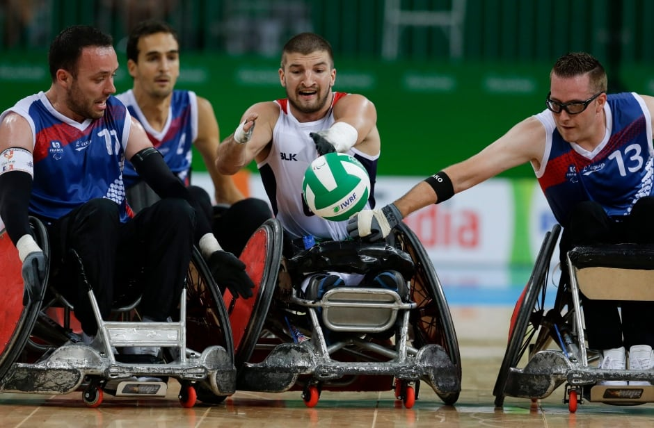 Rio Paralympics Rugby Gallery Wednesday