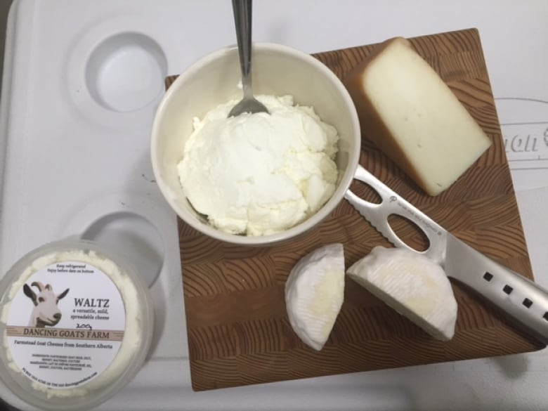 Pirouetting into the goat cheese business | CBC News