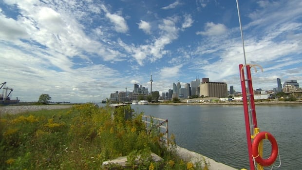 All three levels of government announced  a combined $65 million in funding for the Port Lands on Wednesday.