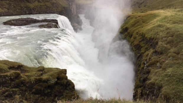 The Gullfoss waterfall in Iceland. Nine Nova Scotians are hiking through Iceland this week in support of the Nova Scotia Nature Trust.