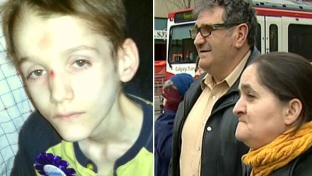 Alex Radita, left, died from starvation and neglect in May 2013. Nine months later, his parents, Emil and Rodica, right, were charged with first-degree murder.