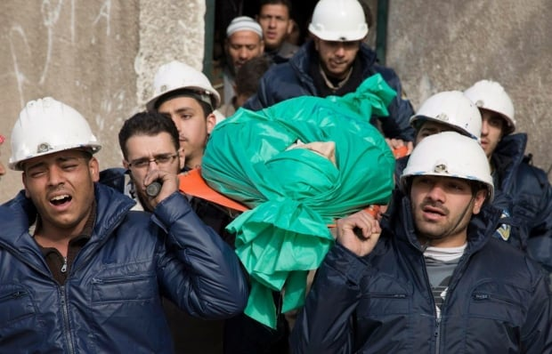 Mideast Syria White Helmets