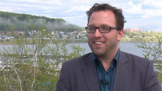 Gaspé Mayor Daniel Côté