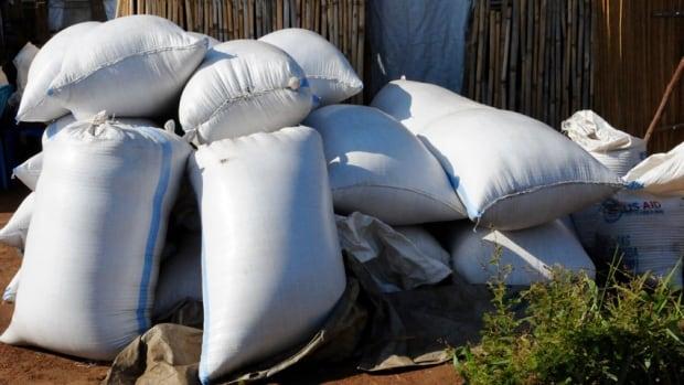 Pagirinya refugee camp grains