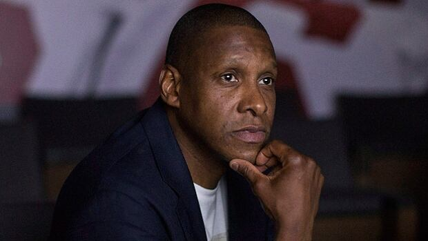 """The decision to sign a multi-year extension with the Raptors was an easy one for team president Masai Ujiri after Toronto won 56 games last season and lost to Cleveland in the NBA Eastern Conference final. """"I love it here. I really do. Toronto is home for me."""""""