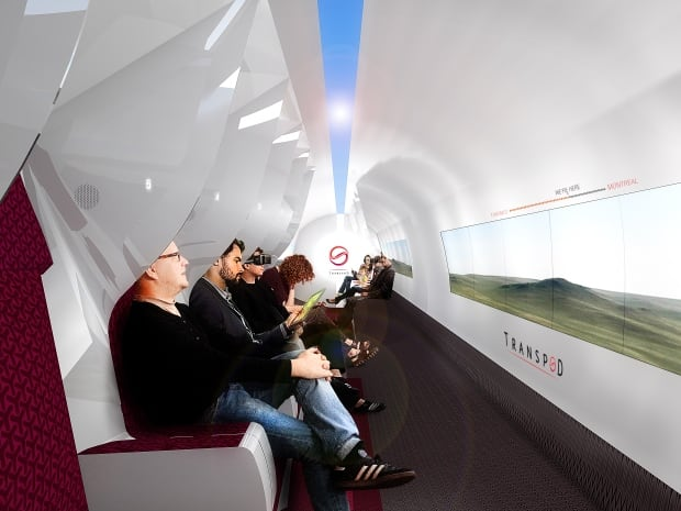 Hyperloop Interior