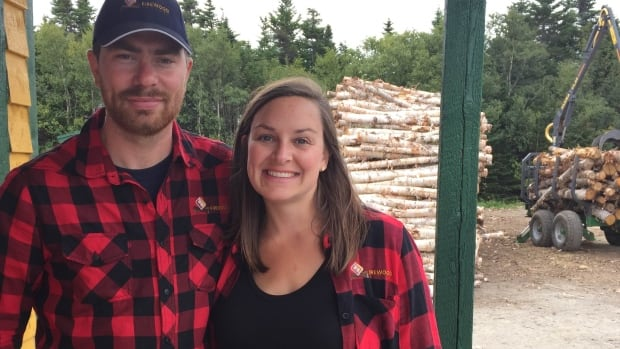 Sean and Kaylen Janes of Firewood Factory NL are donating a truckload of wood to a person in need this holiday season.