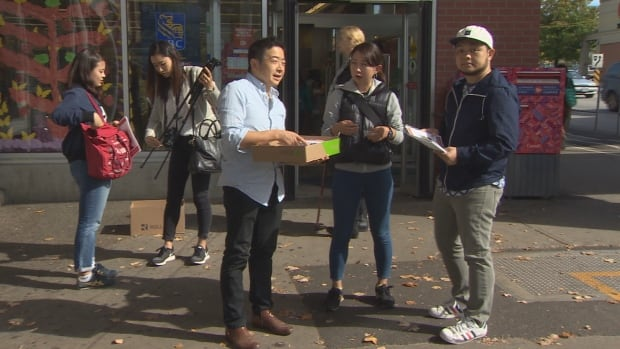 Missing woman Natsumi Kogawa friends canvassing