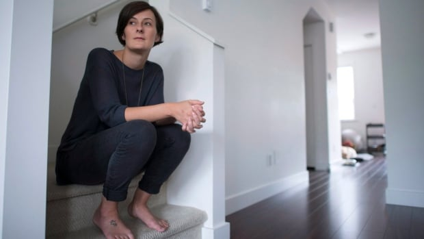 Byrdie Funk, pictured at her home in Squamish, B.C., is one of an unknown number of people caught by a law that automatically revokes the citizenship of certain Canadians who fail to officially apply to retain their nationality before the age of 28.