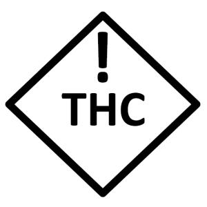 Colorado edible marijuana warning symbol