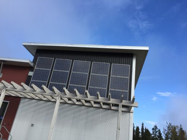 Soalr panels Yukon College
