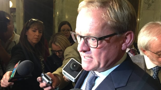 Education Minister David Eggen announced the third-party inquiry into the Independent Baptist Christian Education Society in September.