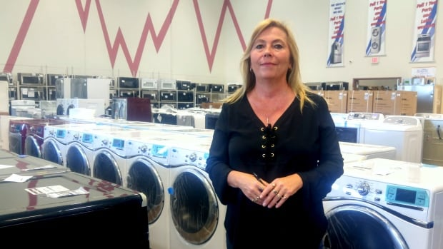Patricia Warner is the owner of Bowest Appliances in Calgary.