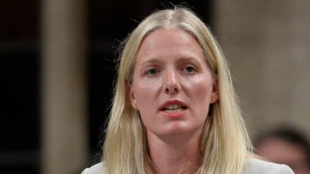 Environment Minister Catherine McKenna answers a question during Question Period in the House of Commons in Ottawa on Monday, September 19, 2016. THE CANADIAN PRESS/Adrian Wyld