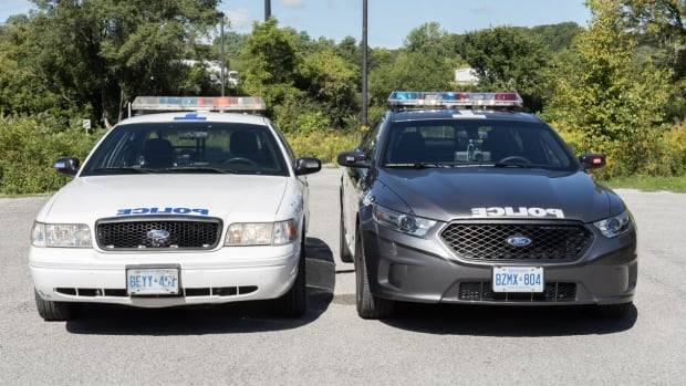 Toronto Police Services will be updating their fleet of white police cruisers over the next four years with dark grey scout cars.