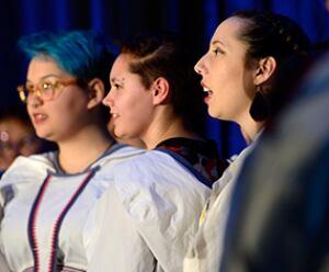students of Nunavut Sivuniksavut
