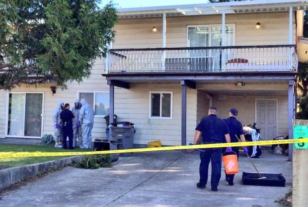 Vancouver double murder house hazmat