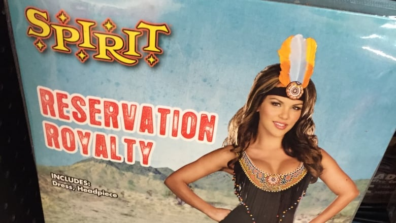 reservation royalty and other such indigenous costumes for sale at spirit halloween have been called offensive by academics students and people in the