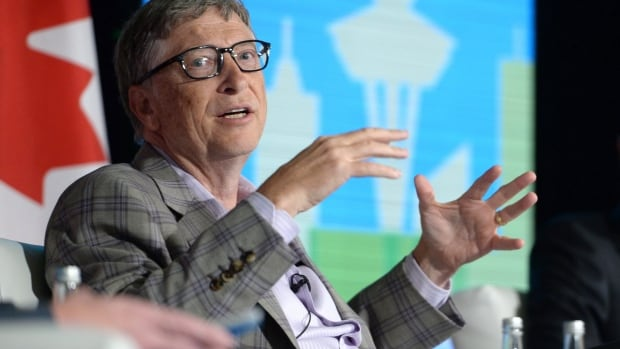 Bill Gates attends the Emerging Cascadia Innovation Corridor Conference in Vancouver, Tuesday, Sept.20, 2016