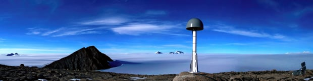 GPS receiver in Greenland