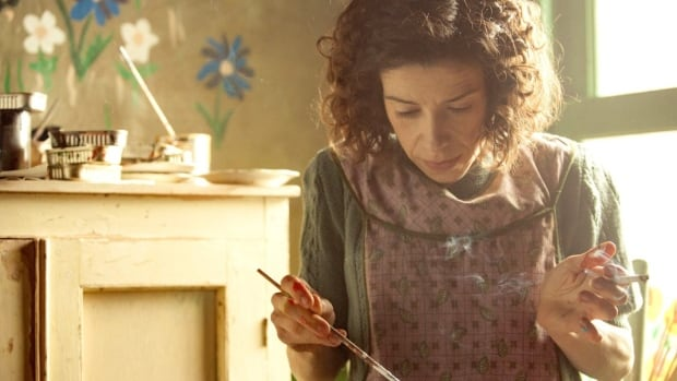 Actor Sally Hawkins played the lead role in Maudie, a film about artist Maud Lewis, which screened at this year's Calgary International Film Festival.