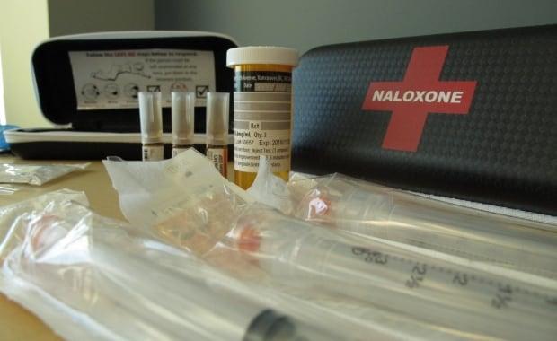 Take-home naloxone kit