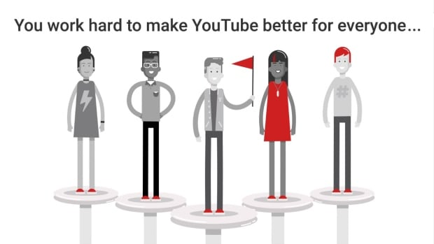A trailer announces YouTube's Heroes program, which will awards users points and perks for moderating the site's mountains of online video and community content.