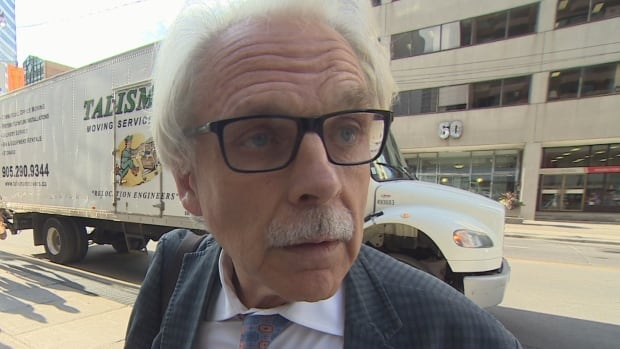James Regan, 62, was evicted from a Toronto condo earlier this year after he failed to pay more than $25,000 in rent.