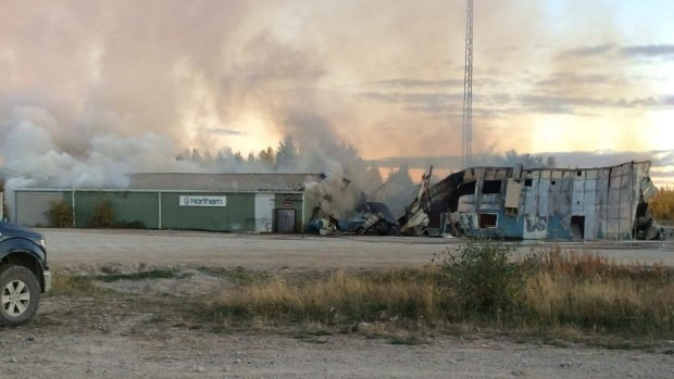 Shamattawa First Nation has declared a state of emergency after the fire completely destroyed the community's only food store and band office.