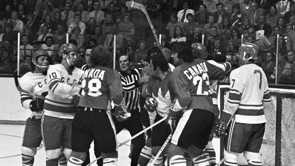 What was the impact of the 1972 Summit Series on Canadians, Hockey in the NHL and politics?