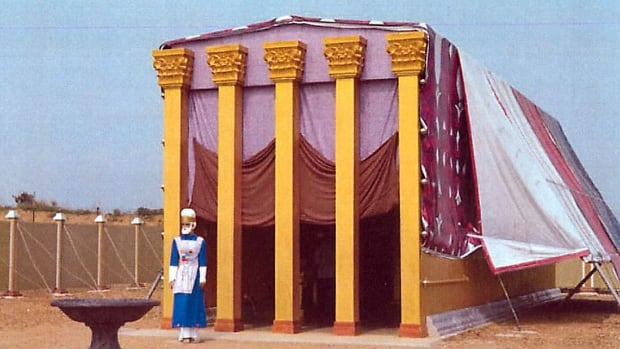 The proposed park will include a model of the tabernacle, said to be the first resting place of the Ark of the Covenant.