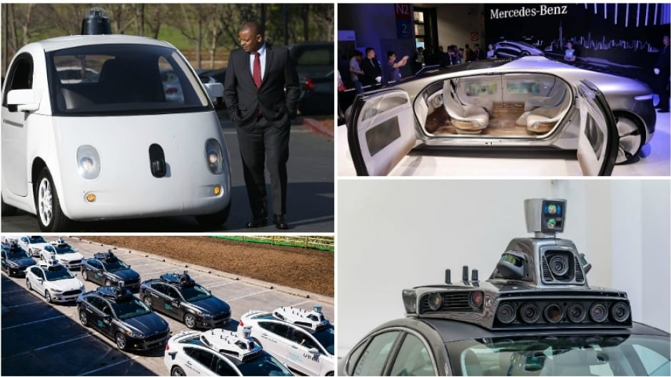 Google, Mercedes-Benz and Uber are among many manufacturers working to get self-driving cars on our streets but there are still technical and ethical issues to address.