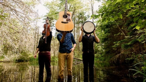 'It's almost surreal' being up for 4 Canadian Folk Music Awards says Jesse Périard of Ten Strings and a Goat Skin.