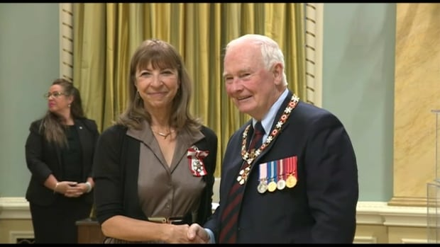 Odette Heyn, Gov. Gen. David Johnston