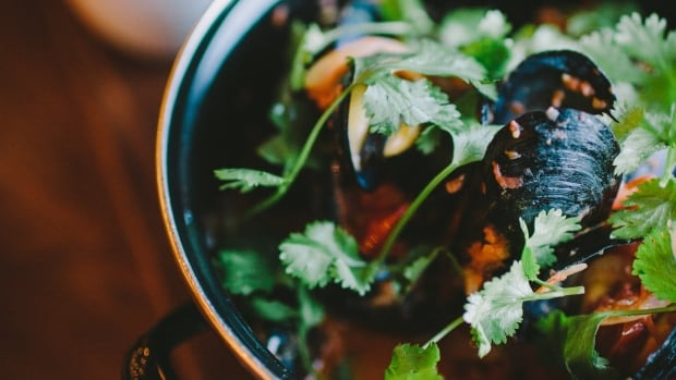 Chef Nico Schuermans says his mussel Congolaise is as popular as the lamb tagine but if you had to try one of the two, he suggests the latter.