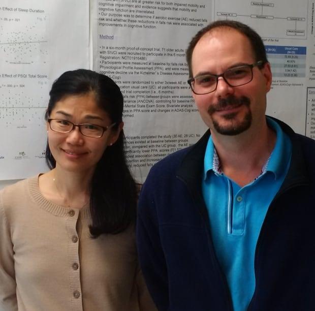 Teresa Liu-Ambrose and Glenn Landry