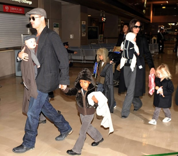 Japan People Brad Pitt