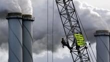 Greenpeace coal Netherlands