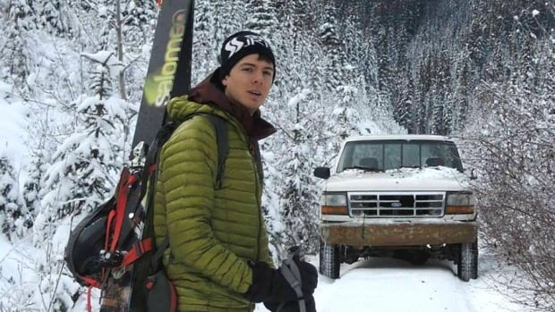 Trevor Sexsmith, 27, died Sunday after being caught in an avalanche on Mount Victoria near Lake Louise.
