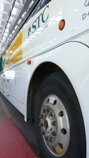 STC Saskatchewan Transportation Company inter city bus service seniors bus