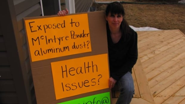 Janice Martell has been encouraging former miners who may have been exposed to McIntyre Powder to step forward and attend information clinics.
