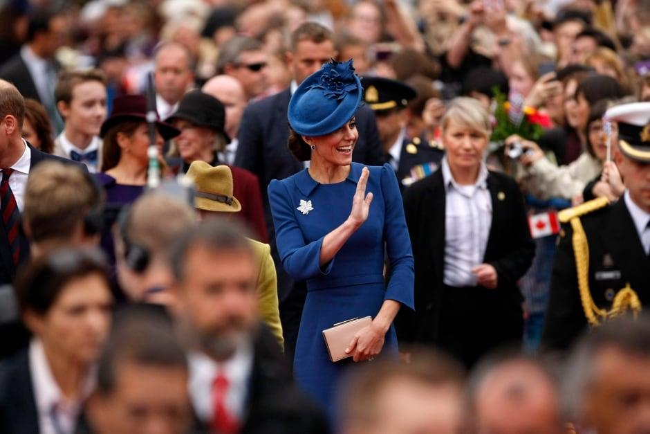 Royal Visit 20160924 Kate in Victoria Sept 24 2016