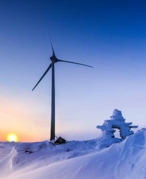 Wind turbine Nunavik