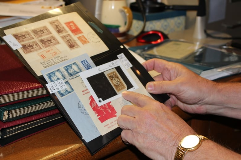 Stamp 'accumulator' has no idea how many stamps he owns