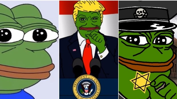 Pepe is an internet meme that has gone through many iterations and interpretations, but is most recently associated with the alt-right movement.