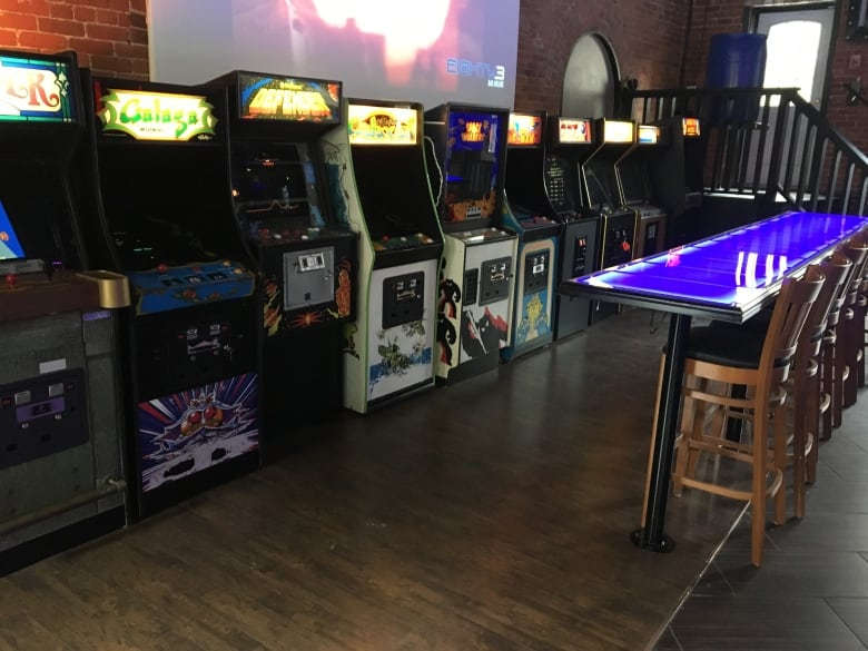 The Bar Features That Early 80s Staple Arcade Video Game With Latest Hot Trend Craft Beer