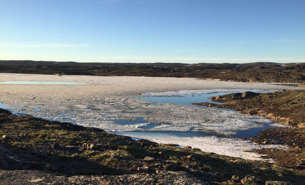Sea ice Frobisher Bay